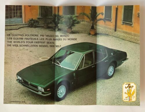 ISO Rivolta Fidia Sales Brochure Multi Language Photograph Specifications 1970