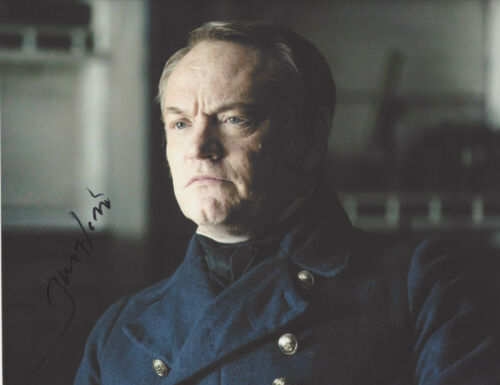 ACTOR JARED HARRIS SIGNED 'THE TERROR' FRANCIS 8X10 PHOTO C COA CHERNOBYL PROOF