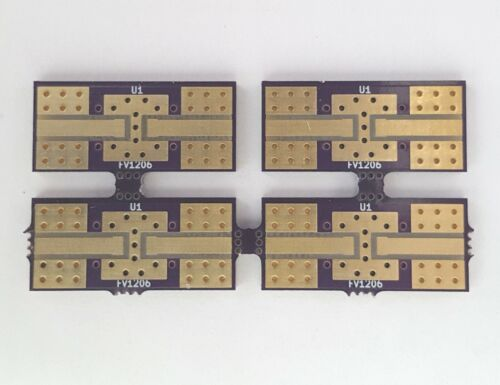 Development Evaluation PCB Mini-Circuits LFCN/HFCN Filters FV1206 Package Qty.4