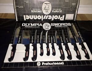Set of professional knives