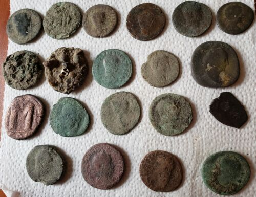 (20) Very Large Ancient Coins........10.25 grams average in this lot