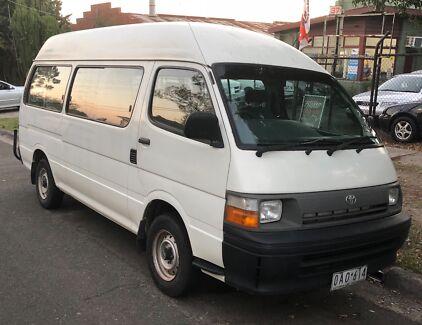 2002 toyota hiace commuter rzh125r manual duel fuel van bus cars rh gumtree com au Suzuki Carry Van Manual Toyota Hiace Van Japan