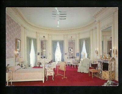 Interiors postcard Newport Rhode Island RI The Breakers Mrs Vanderbilt Bedroom - Newport Bedroom Collection