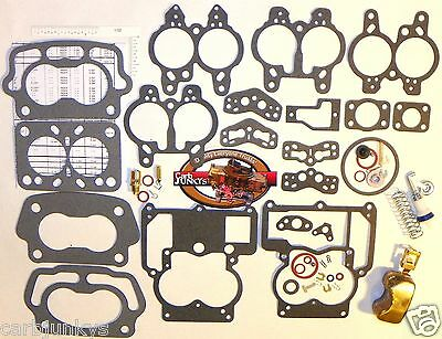 Carburetor Rebuild - 1955 69 Carburetor Rebuild Repair Kit Rochester 2B Chevy 283 350 New Brass Float