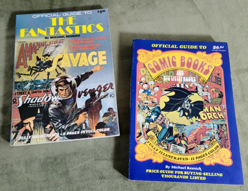 Official Guide To Comic/Big Little Book The Fantastics Doc Savage Shadow Resnick