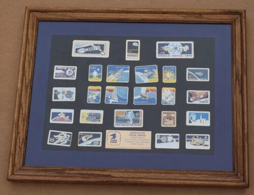 Space Flight Commemorative Stamp Pin Collectors Edition US Mail NASA Apollo Rare