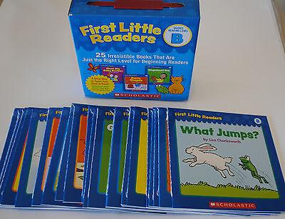 Lot 25 Level B First Little Easy Readers BOX SET Kindergarten Grade 1 Homeschool
