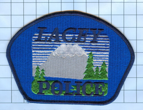 Police Patch - Washington - Lacey