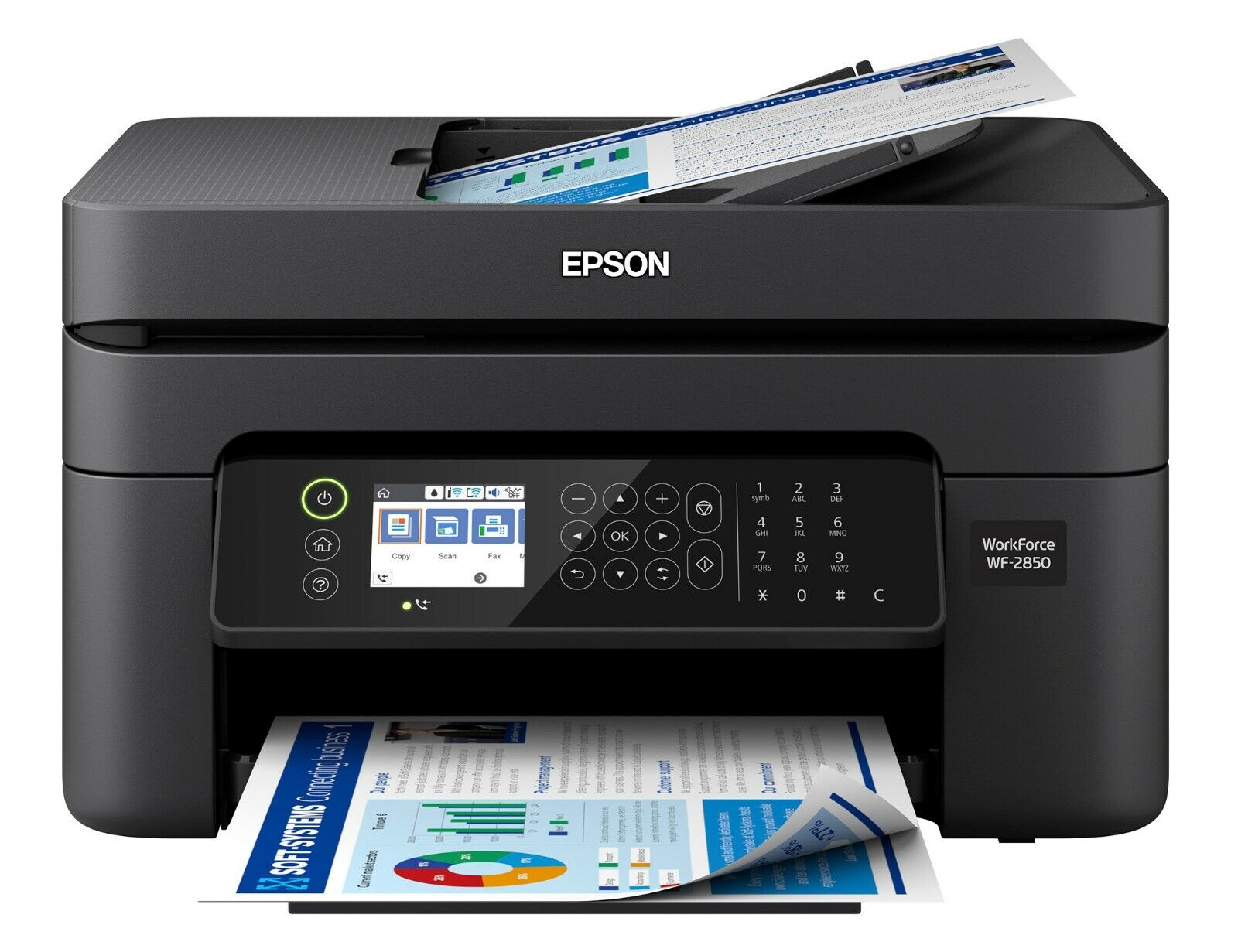 Epson WorkForce WF-2850 All-in-One Wireless Color Printer /