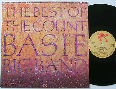 COUNT BASIE BIG BAND THE BEST OF PABLO LP MINT-