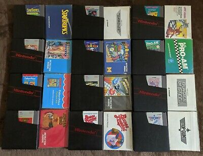 NES Nintendo Lot Of 12 Games w/ Manuals+Sleeves All VG Condition Cleaned Tested