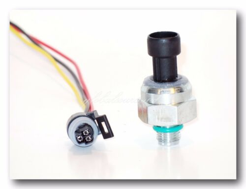 Diesel Injection Control Pressure Sensor w/ Connector Fitd: Cummins T444E Ford