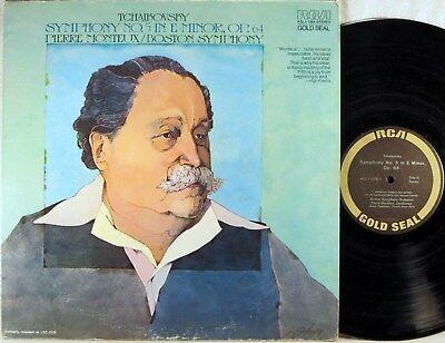 - RCA GOLD SEAL Tchaikovsky MONTEUX Symphony #5 AGL1-1264 (LSC-2239)
