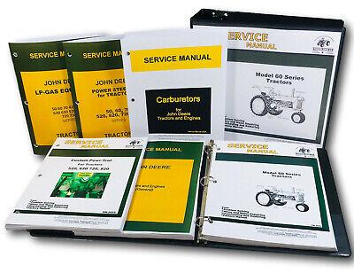 Service Manual For John Deere Model 60 620 630 Tractor Sm-2008