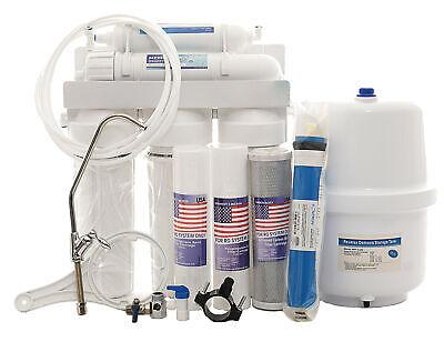 Filtro de Agua 5 Niveles Sistema Dispositivo Osmosis Inversa Ósmosis Grifo