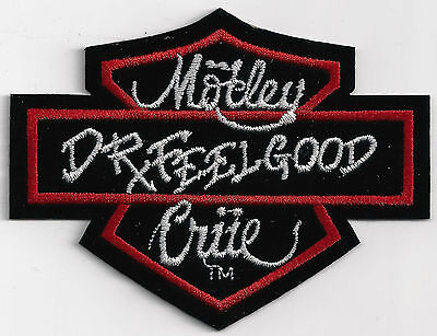 MOTLEY CRUE - DR. FEELGOOD - IRON or SEW ON PATCH