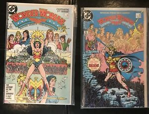 Wonder Woman 1 & 10. DC Comics 1987.