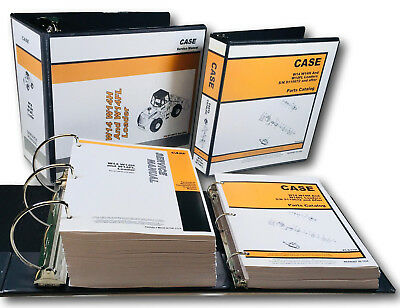 Case W14 W14h W14fl Wheel Pay Loader Service Repair Manual Parts Catalog Ovhl