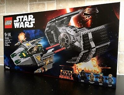 LEGO STAR WARS - 75150 Vader's TIE Advanced Vs. A-Wing *Brand New In Sealed Box*