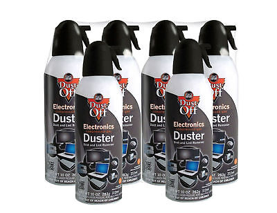 Falcon Dust-Off 10oz Professional Safety Compressed Air Duster 6-PACK BRAND NEW!