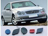 Genuine Headlight Washer Primed Cap Cover N//S Fits MERCEDES CLK W208 1998-2003