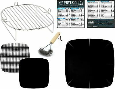 Air Fryer Rack Accessories Compatible with Dash, Philips, Secura, Emeril +More