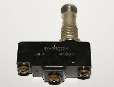 Honeywell Micro Switch Roller Plunger Action Limit Switch Bz 2rq784