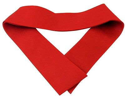 Westman Works Plain Red Confirmation Stole Felt Made for Personalizing 45 Inch L - Confirmation Stoles