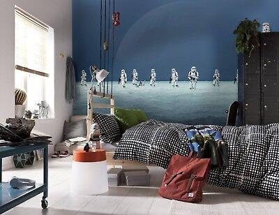 GIANT Wall Mural Photo Wallpaper STAR WARS SCARIF BEACH Stormtroopers Kids Room