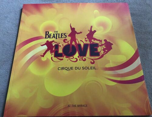 Cirque Du Soleil The Beatles LOVE program at The Mirage  - Excellent Condition