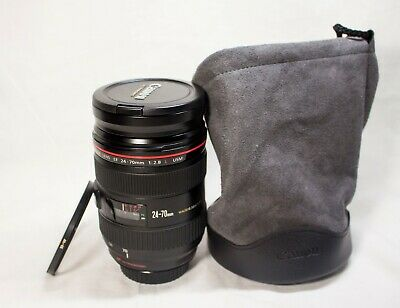 Canon EF 24-70mm f/2.8L USM Telephoto Lens (8014A002)
