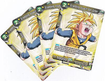 Dragon Ball Super Card Game BCC Promo Scrambling Assault Son Goten 4x