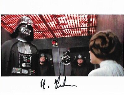 "Harry Fielder STAR WARS -   Genuine Signed Autograph 10""x8"" COA 22532"