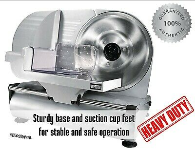 Commercial Meat Slicer 9 Blade Stainless Steel Food Electric Cutter Machine Hq