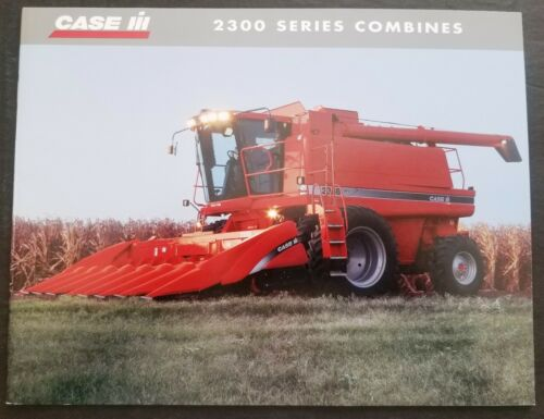 Case - IH 2300 Series Axial Flow Combine Dealer Sales Brochure