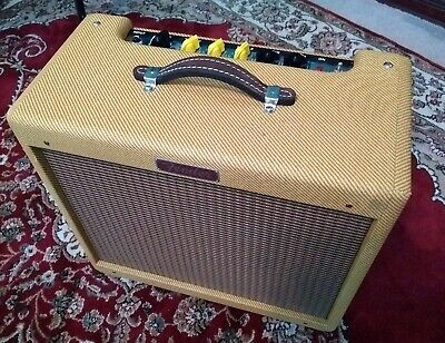 Fender Limited Edition Lacquered Tweed Blues Junior Tube Guitar Amp w/upgrades!