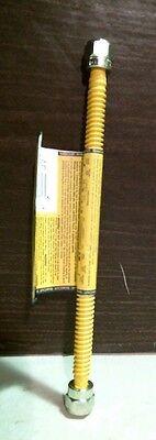 """Brass Craft 11387 Gas Connector Tube w /3/8"""" Od Fl Nut 10"""" CSSTNN-10N FREE SHIP"""