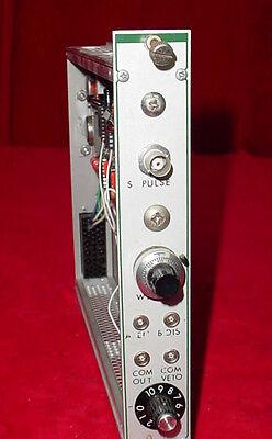 S Pulse 8323 Nim Bin Plug-in Module Tennelec Egg Ortec
