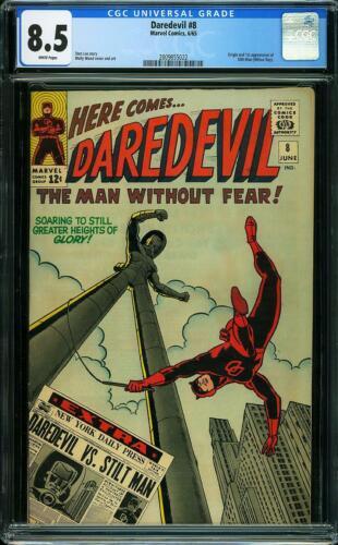 Daredevil # 8 CGC 8.5 -- 1965 -- 1st app Stilt-Man #2009855022