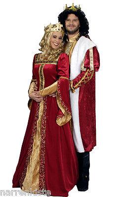 Königs König Königin Mantel Umhang Jacke Kostüm Kleid Prinzen Prinzessin - König Königin Prinzessin Kostüm