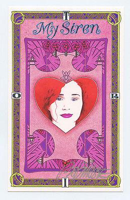 Tori Amos Handbill My Siren 1997 commemorative Bob Masse