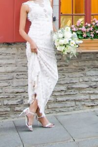 SUPERBE ROBE DE MARIAGE / MERMAID-STYLE WEDDING GOWN