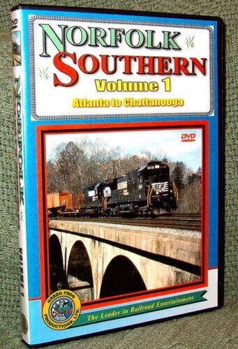 "20071 TRAIN VIDEO DVD ""NORFOLK SOUTHERN - ATLANTA TO CHATANOOGA"