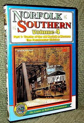 "20070 TRAIN VIDEO DVD ""NORFOLK SOUTHERN - OLD N&W TRACKS #1"""