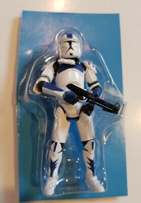 Star Wars Clone Wars Pilot Legacy Evolutions Blue Shark Arc 501st Legion Trooper