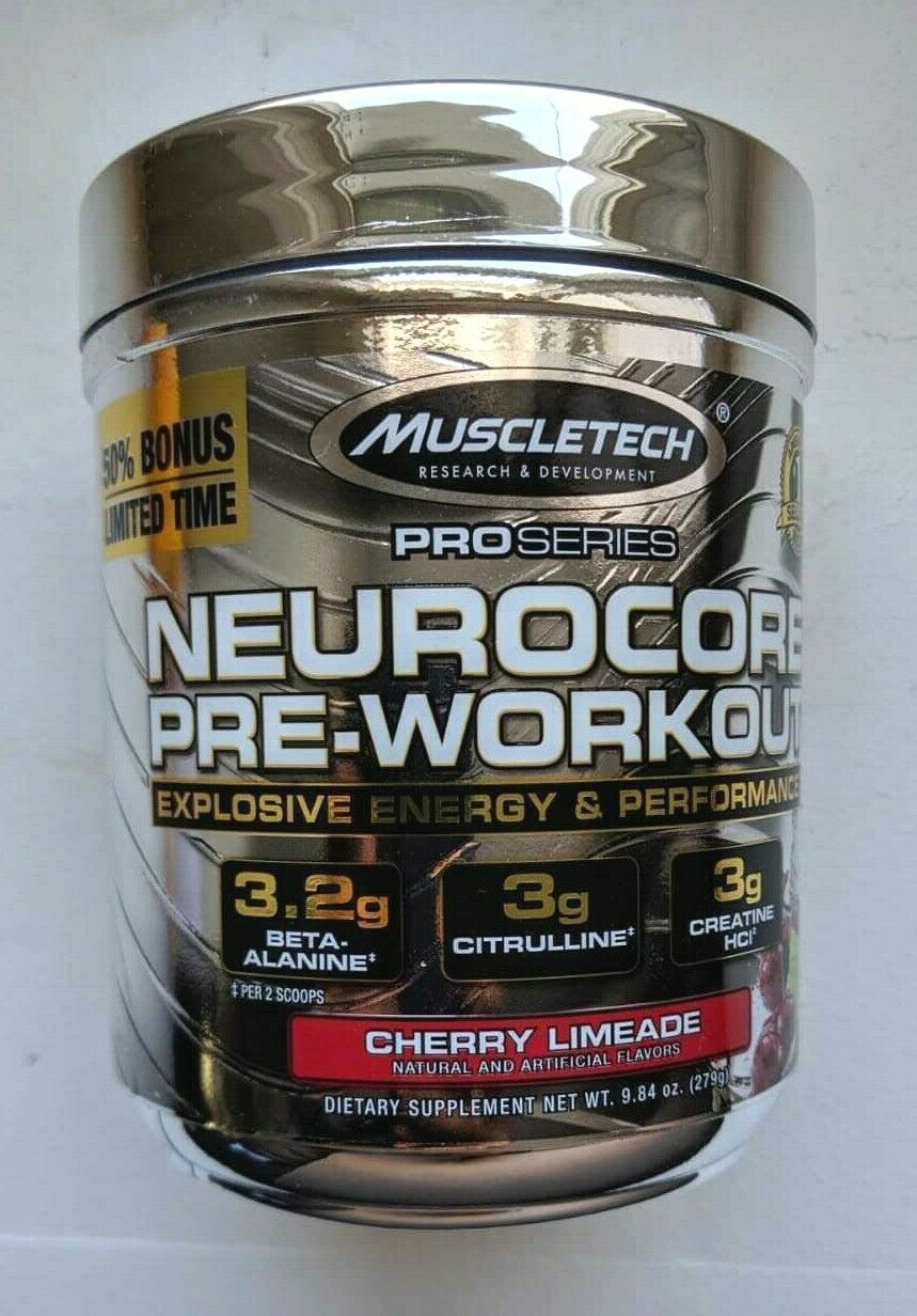 2 MuscleTech NeuroCore, Explosive Pre Workout, 40 Servings E