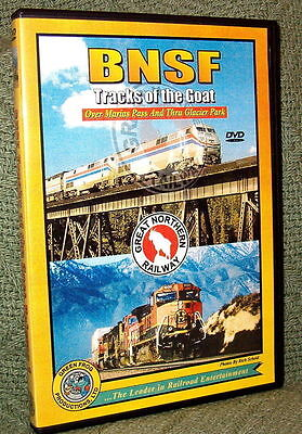 "20034 TRAIN VIDEO DVD ""BNSF - TRACKS OF THE GOAT"" VOL. 1"