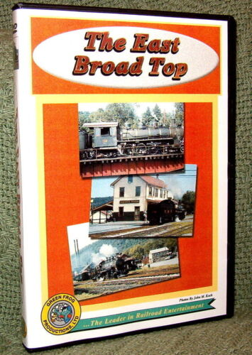 """cp024 TRAIN VIDEO DVD """"THE EAST BROAD TOP"""" VINTAGE FILM"""