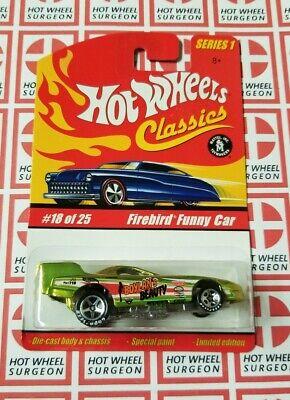 Hot Wheels Classics Firebird Funny Car * Series 1 * NIP 1:64 Scale