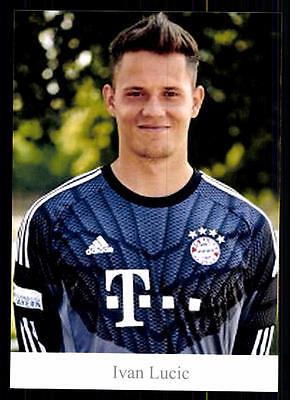 Ivan Lucic Autogrammkarte Bayern München II 2014-15